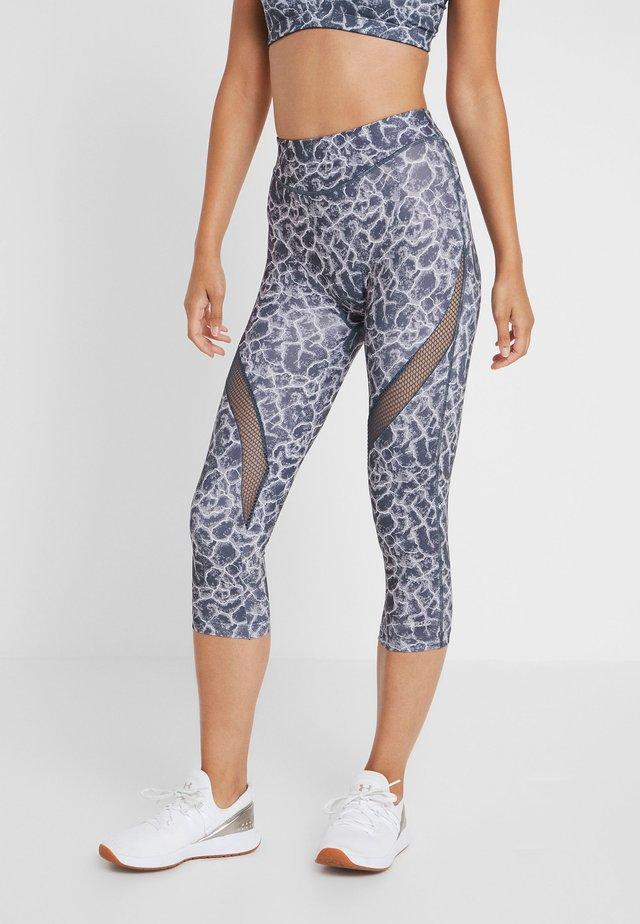 ACTIVE CAPRI - 3/4 sports trousers - asphalt