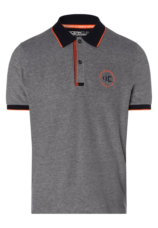 Polo shirt - marine orange