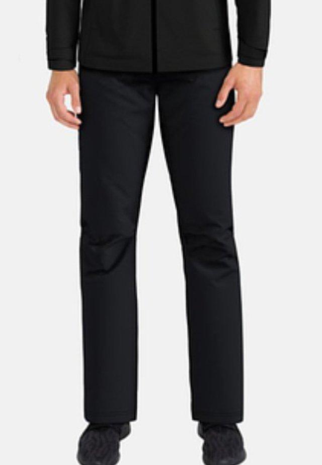 WEDGEMOUNT - Trousers - black