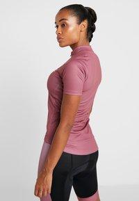 ODLO - STAND UP COLLAR FULL ZIP FUJIN PRINT - T-Shirt print - roan rouge - 2