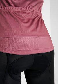 ODLO - STAND UP COLLAR FULL ZIP FUJIN PRINT - T-Shirt print - roan rouge - 5