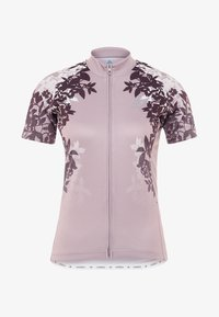 ODLO - STAND UP COLLAR FULL ZIP FUJIN PRINT - T-Shirt print - quail - 4