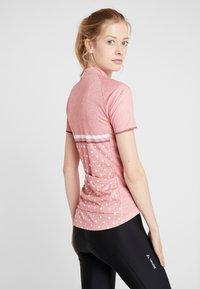 ODLO - STAND UP COLLAR FULL ZIP FUJIN PRINT - T-shirts med print - faded rose - 2