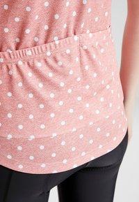 ODLO - STAND UP COLLAR FULL ZIP FUJIN PRINT - T-shirts med print - faded rose - 5