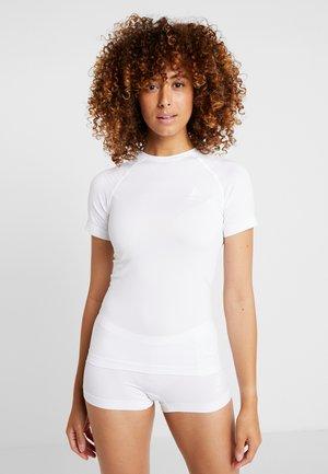 CREW NECK PERFORMANCE LIGHT - Camiseta interior - white