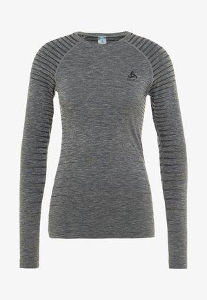 CREW NECK PERFORMANCE LIGHT - Sportshirt - grey melange