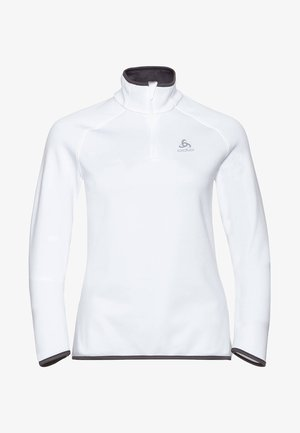 CARVE CERAMIWARM - Long sleeved top - white