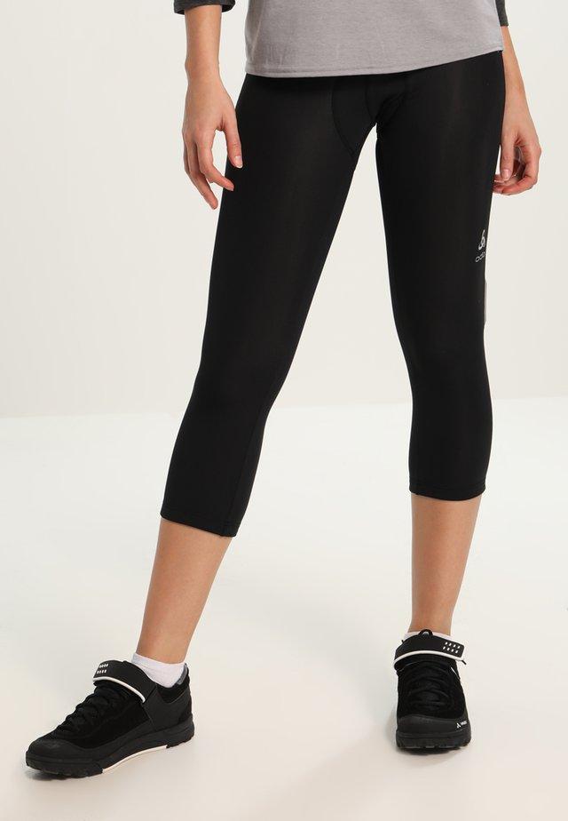 BREEZE - 3/4 sports trousers - black