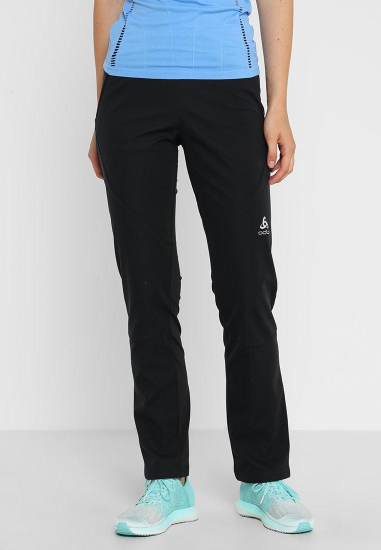 ODLO - Teplákové kalhoty - black