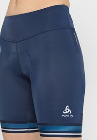 ODLO - SHORT ZEROWEIGHT CERAMICOOL PRO - Tights - diving navy - 7