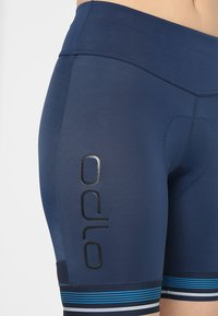 ODLO - SHORT ZEROWEIGHT CERAMICOOL PRO - Tights - diving navy - 4