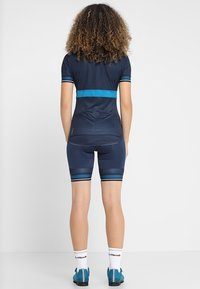 ODLO - SHORT ZEROWEIGHT CERAMICOOL PRO - Tights - diving navy - 2