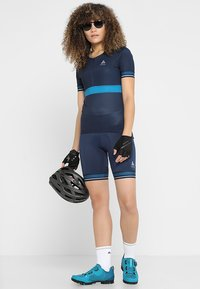 ODLO - SHORT ZEROWEIGHT CERAMICOOL PRO - Tights - diving navy - 1