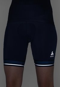 ODLO - SHORT ZEROWEIGHT CERAMICOOL PRO - Tights - diving navy - 5
