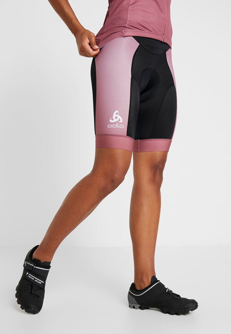 ODLO - SHORTS - Tights - roan rouge