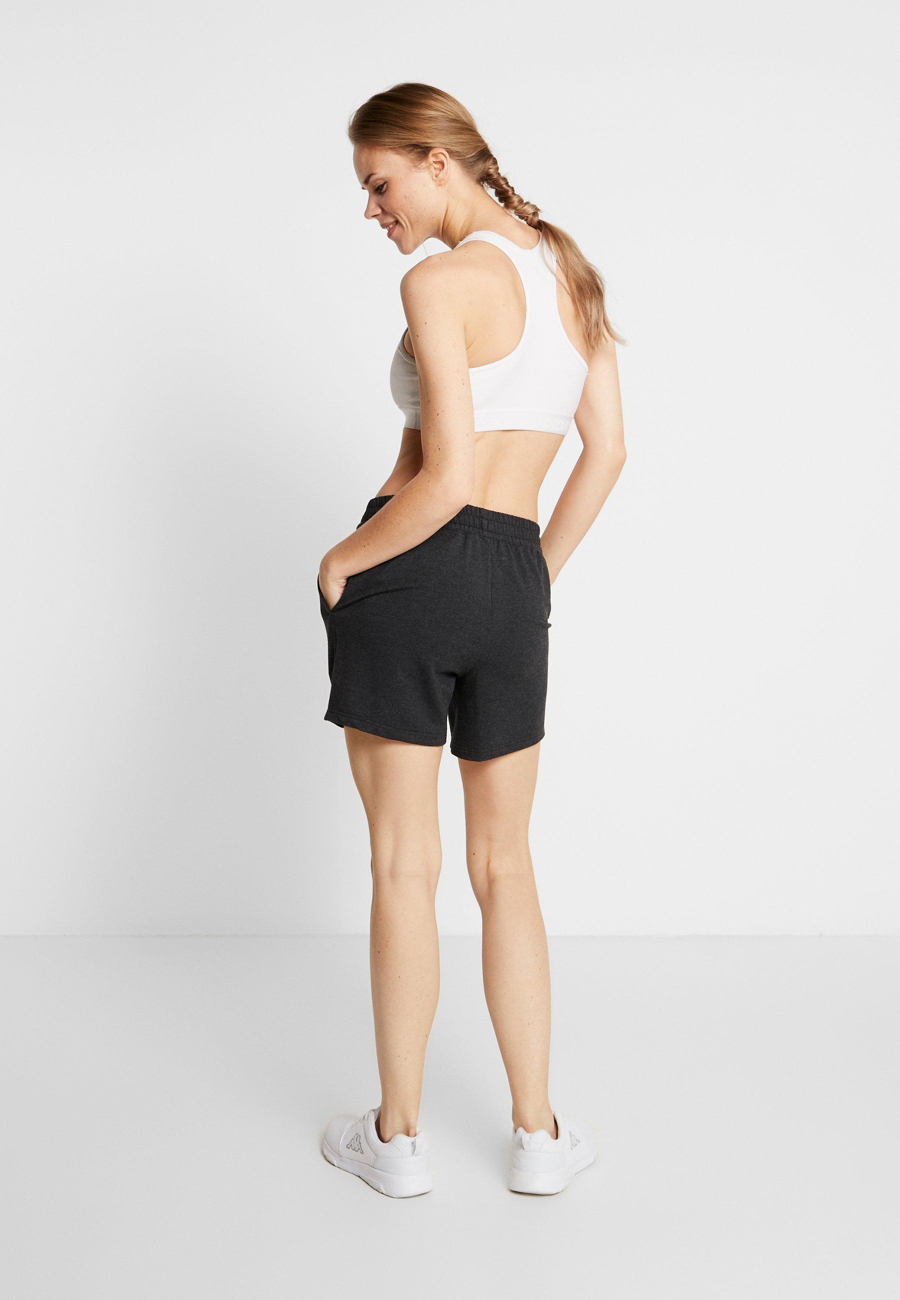 ODLO SHORTS MILLENNIUM ELEMENT - Sports shorts - black melange