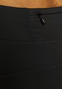 ODLO - SHORTS SMOOTHSOFT - Leggings - black - 3