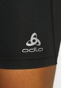 ODLO - SHORTS SMOOTHSOFT - Leggings - black - 5