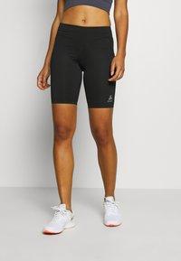 ODLO - SHORTS SMOOTHSOFT - Leggings - black - 0