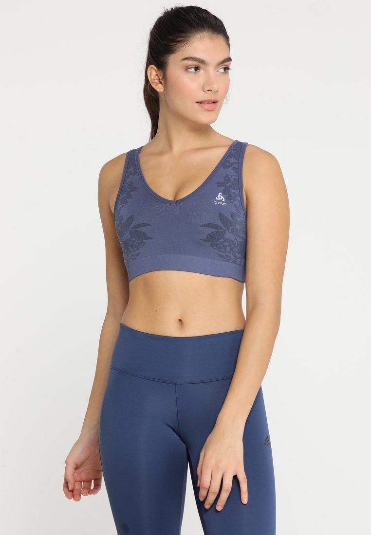 ODLO - BRA SEAMLESS MEDIUM - Sports bra - blue indigo