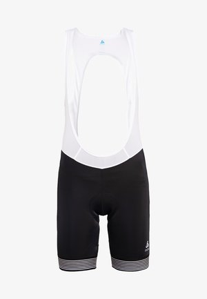 SHORT SUSPENDERS FUJIN - Tights - black