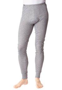 ODLO - PANTS LONG WARM - Dlouhé spodní prádlo - grau - 0