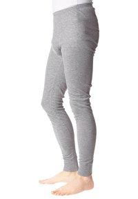 ODLO - PANTS LONG WARM - Dlouhé spodní prádlo - grau - 1