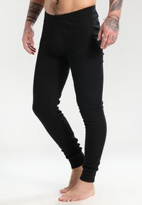 ODLO - PANTS LONG WARM - Långkalsonger - black - 0