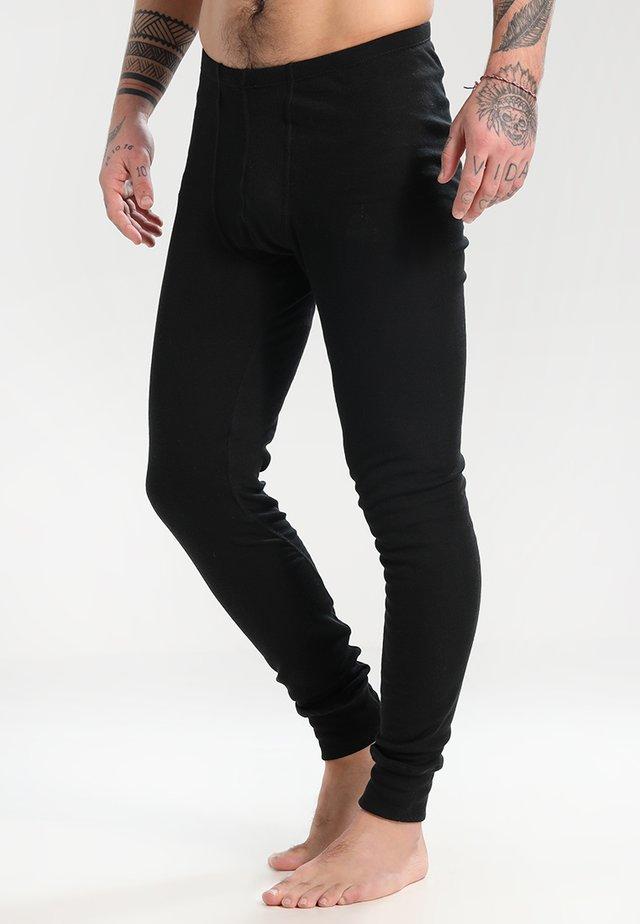 PANTS LONG WARM - Långkalsonger - black