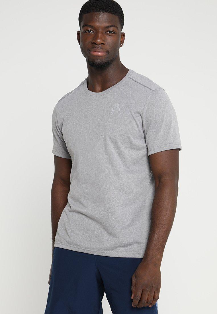 ODLO - CREW NECK MILLENNIUM - Basic T-shirt - grey melange