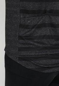 ODLO - STAND UP COLLAR FULL ZIP ELEMENT - T-Shirt print - odlo graphite grey melange/retro - 5