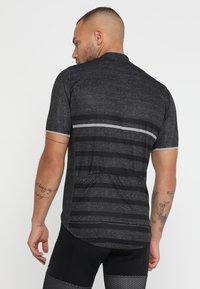 ODLO - STAND UP COLLAR FULL ZIP ELEMENT - T-Shirt print - odlo graphite grey melange/retro - 2