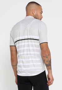 ODLO - STAND UP COLLAR FULL ZIP ELEMENT - T-Shirt print - white melange - 2