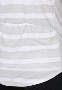 ODLO - STAND UP COLLAR FULL ZIP ELEMENT - T-Shirt print - white melange - 4