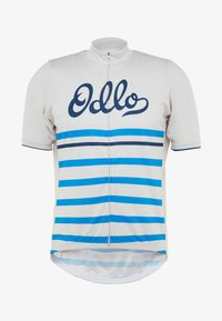 ODLO - STAND UP COLLAR FULL ZIP ELEMENT - T-Shirt print - silver grey