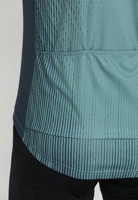 ODLO - STAND UP COLLAR FULL ZIP ELEMENT - T-Shirt print - dark slate/arctic - 3