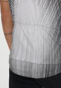 ODLO - STAND UP COLLAR FULL ZIP ELEMENT - T-Shirt print - black/silver grey - 3