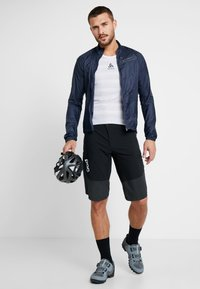 ODLO - CREW NECK ZEROWEIGHT - T-Shirt print - white/silver grey - 1