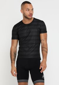 ODLO - CREW NECK ZEROWEIGHT - T-Shirt print - graphite grey/black - 0