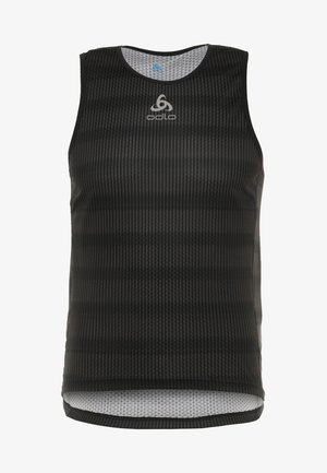 CREW NECK SINGLET ZEROWEIGHT - Camiseta de deporte - graphite grey /black