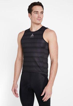 CREW NECK SINGLET ZEROWEIGHT - Koszulka sportowa - graphite grey /black