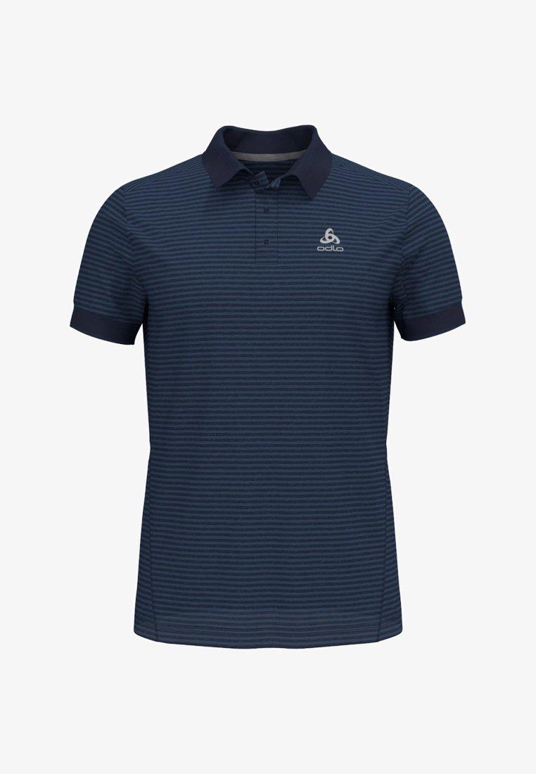 ODLO - NIKKO DRY - Poloshirt - dark-blue denim