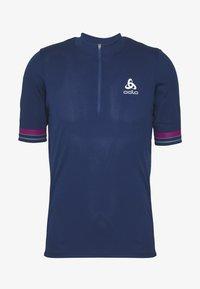 ODLO - ELEMENT - Print T-shirt - estate blue - 3