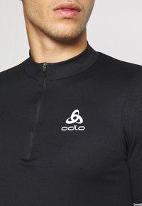 ODLO - ELEMENT - Print T-shirt - black - 5
