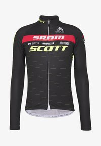 ODLO - STAND UP COLLAR FULL ZIP SCOTT SRAM - Funktionsshirt - black - 4