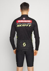 ODLO - STAND UP COLLAR FULL ZIP SCOTT SRAM - Funktionsshirt - black - 2
