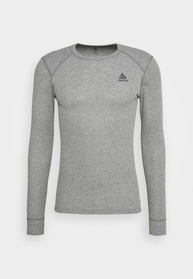 ACTIVE WARM ECO TOP CREW NECK - Koszulka sportowa - grey melange