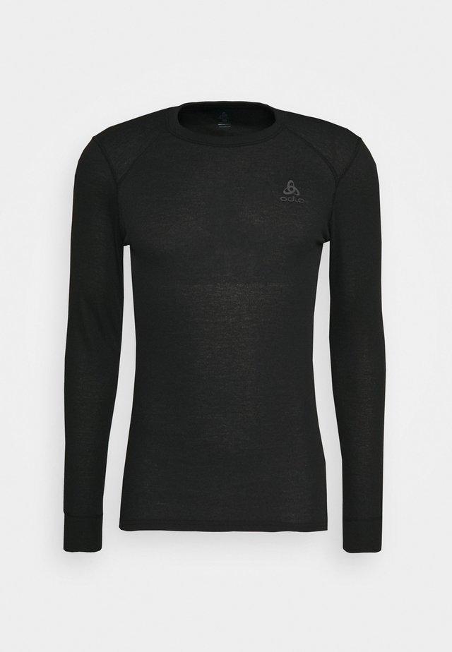 ACTIVE WARM ECO TOP CREW NECK - Funkční triko - black