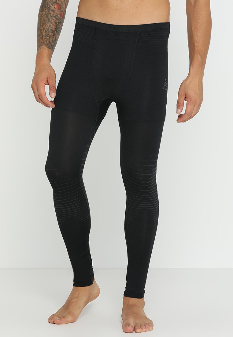 ODLO - BOTTOM PANT PERFORMANCE LIGHT - Medias - black
