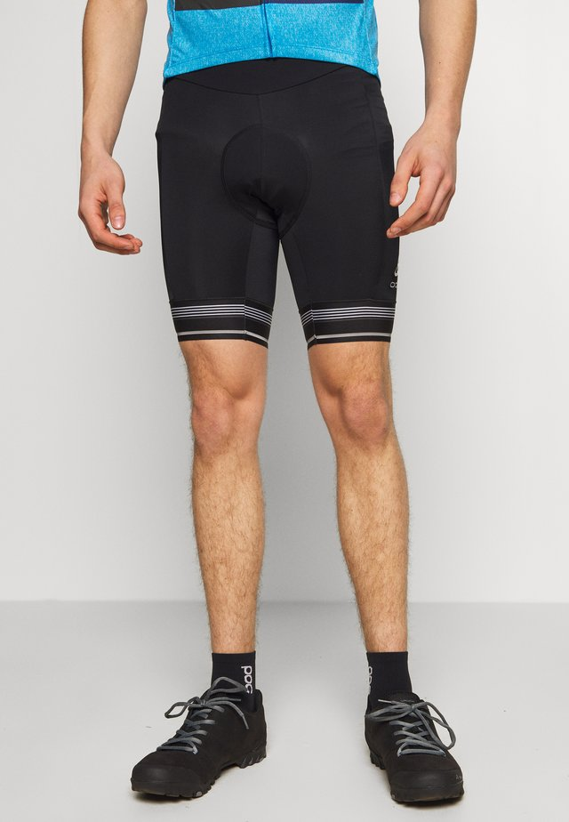 SHORT ZEROWEIGHT - Legginsy - black